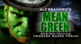 Mean Green Boston Celtics Message Board